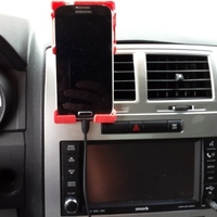 Small Galaxy S4 Car Vent Phone Holder ver. 1.2 Final 3D Printing 96504