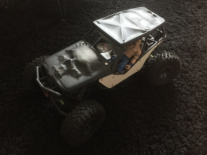 Soft Top Roof for the Axial Wraith 3D Print 96594