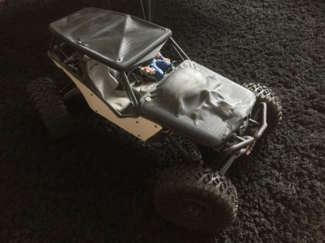 Soft Top Roof for the Axial Wraith 3D Print 96596