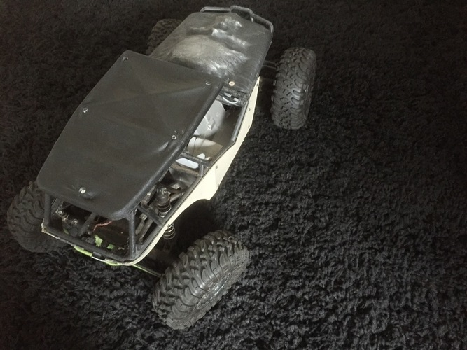 Soft Top Roof for the Axial Wraith 3D Print 96597