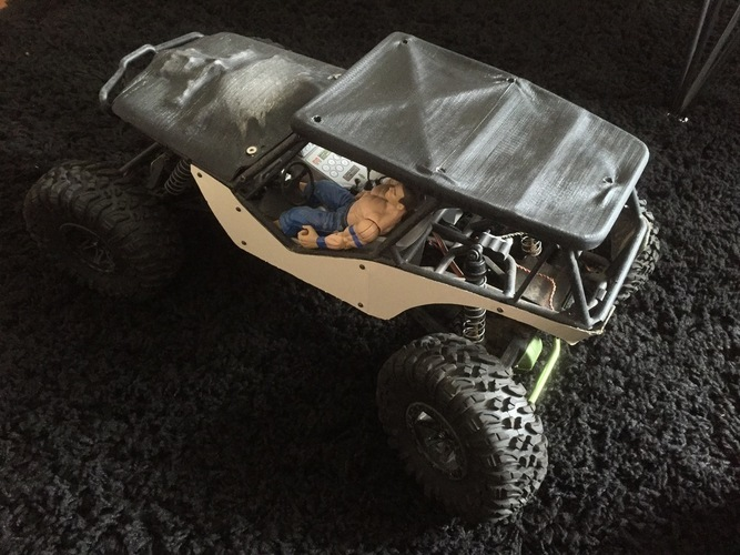 Soft Top Roof for the Axial Wraith 3D Print 96598