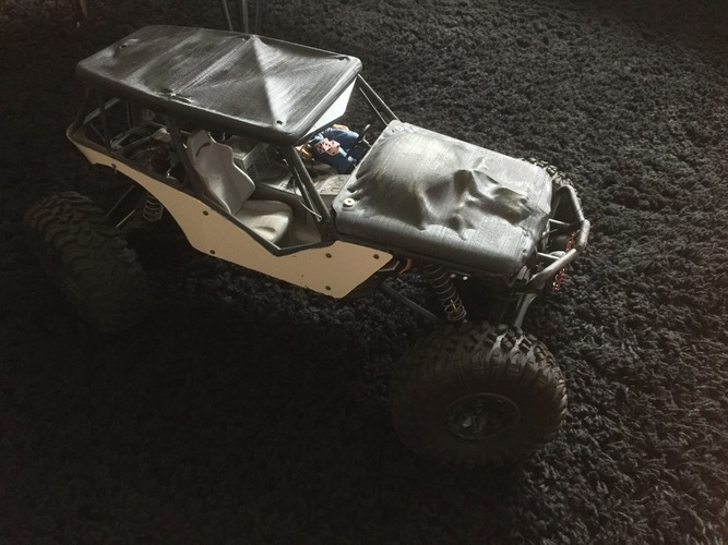 Soft Top Roof for the Axial Wraith 3D Print 96599