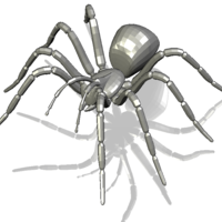 Small Spider 3D Printing 96703