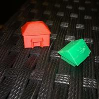 Small monopoly House 3D Printing 96717