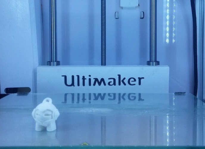 Ultimaker 2 Print Table Back Cover 3D Print 96752