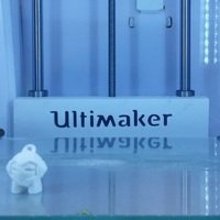 Small Ultimaker 2 Print Table Back Cover 3D Printing 96752