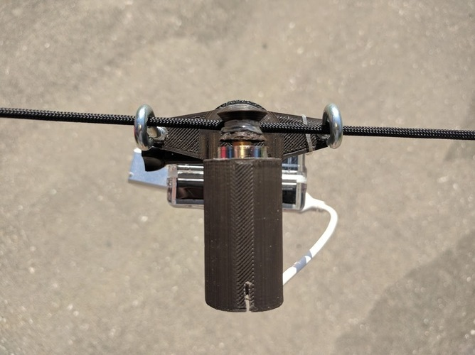 Gopro Motorized Cable Camera 3D Print 96827