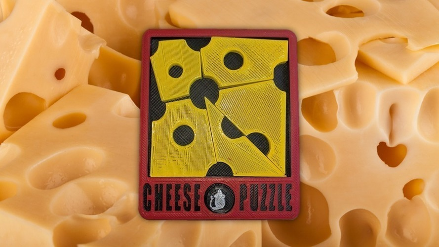 Cheese Puzzle 3D Print 96828