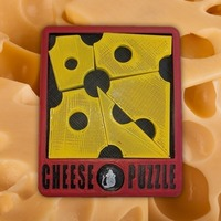 Small Cheese Puzzle 3D Printing 96828