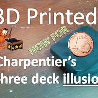 Small Charpentier's three deck illusion - International Edition 3D Printing 96850