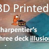 Small Charpentier's three deck illusion 3D Printing 96851