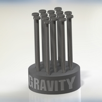 Small Gravity Puzzle Mini 3D Printing 96871
