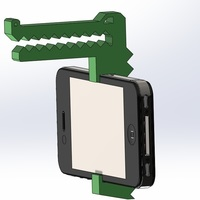 Small IBITE Iphone 4 Hat clip 3D Printing 96925