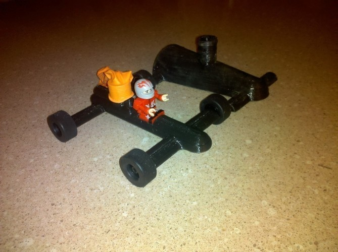 Balloon Car ( Lego Racer Light) 3D Print 96961
