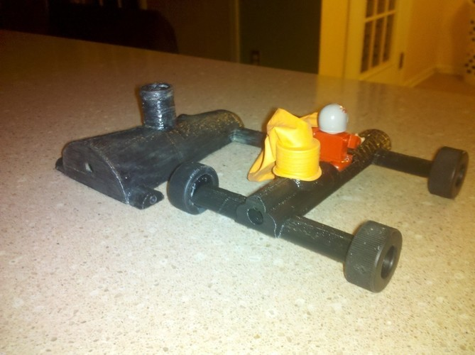 Balloon Car ( Lego Racer Light) 3D Print 96962