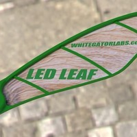 Small LED LEAF 3D Printing 96970