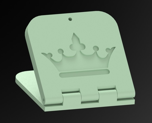 King's Toilet Bowl Pedal  3D Print 96978