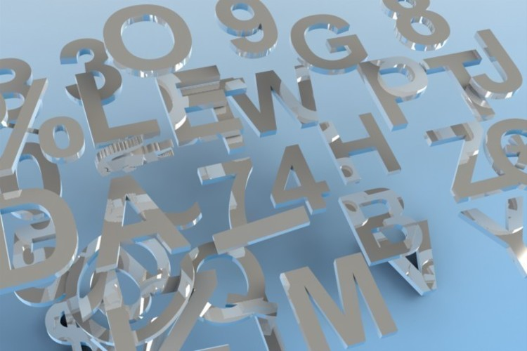 Letters, Numbers & Symbols OH MY! (100mm tall Arial Bold by 10m 3D