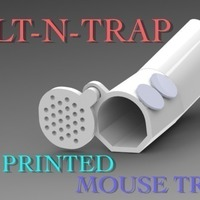 Small TILT-N-TRAP (MOUSE TRAP)  3D Printing 97054