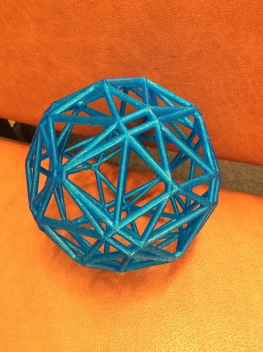 Polyhedron arising from hyperbolic tessellation 3D Print 97153