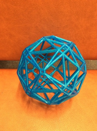 Polyhedron arising from hyperbolic tessellation 3D Print 97154