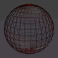 Small Wireframe Globe 3D Printing 97204
