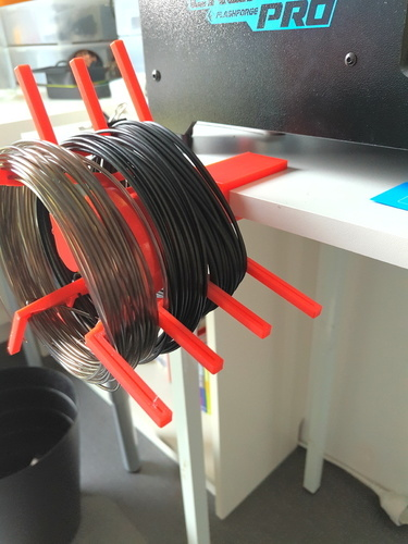 Mini spool holder / desktop fix 3D Print 97251