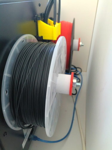 Ultra simple spool holder for FFCP (flashforge creator pro) 3D Print 97256