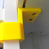 Small Clip to fix a desk to a shelf 3D Printing 97263
