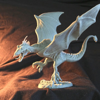 Small dragon sculpt by milostutus 3D Printing 97277