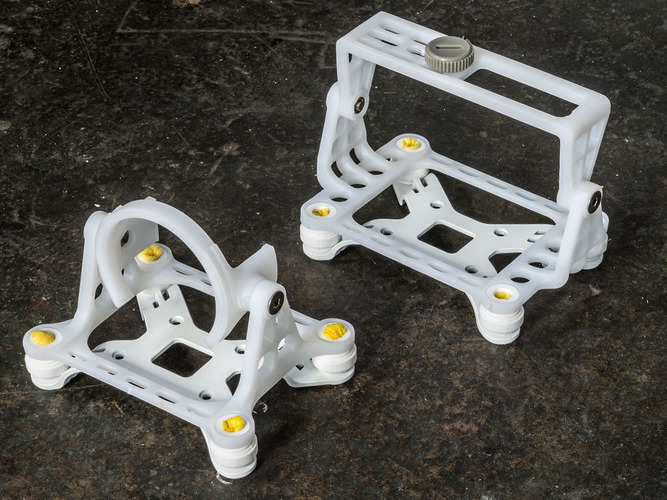 DJI Phantom 2, Camera mount for Panasonic GM1 3D Print 97418