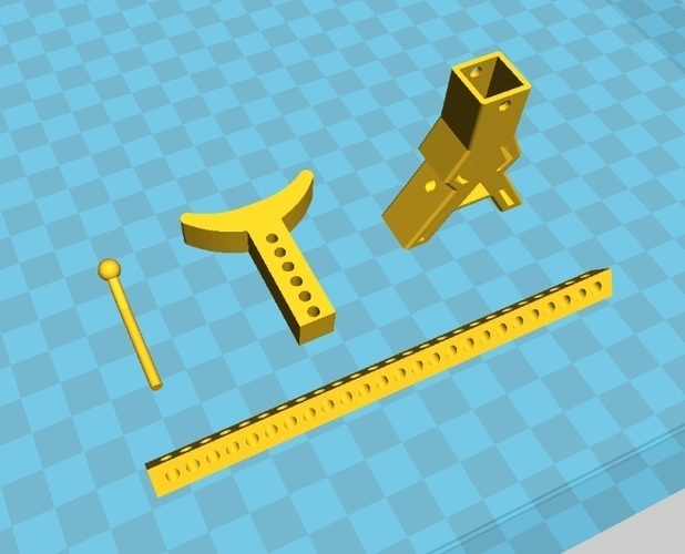 RC Jack Stand Crawler Scaler Vaterra Ascender Axial SCX10 Tamiya 3D Print 97490
