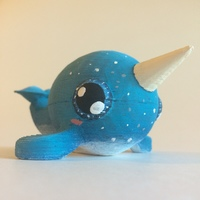 Small Narwhal 3D Printing 97547