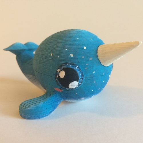 Narwhal 3D Print 97548