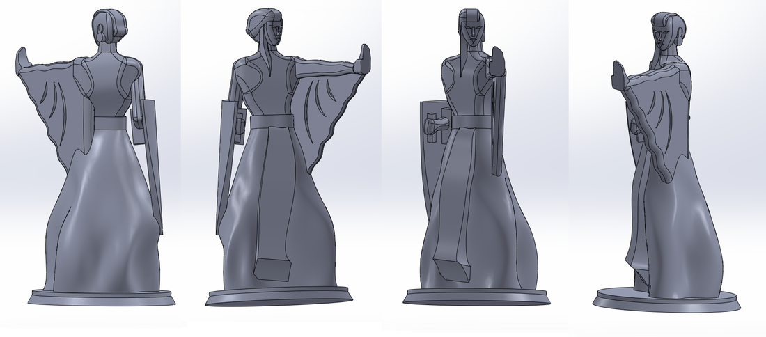 Alberich the Wizard 3D Print 97559