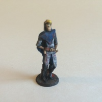 Small Darvim the Elf Rogue 3D Printing 97585