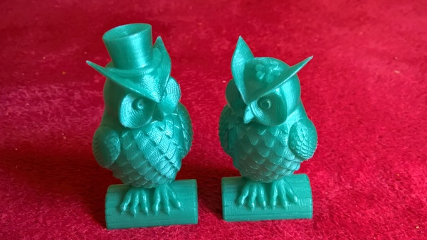 Medium His_and_Her_Owls 3D Printing 97684