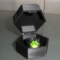 Small Miraculous container box 3D Printing 97703