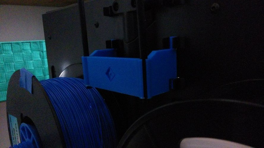 FlashForge Creator Pro 2016 - Filament tube holder 3D Print 97726