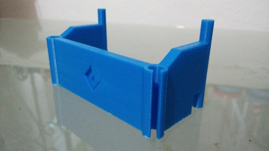 FlashForge Creator Pro 2016 - Filament tube holder 3D Print 97729