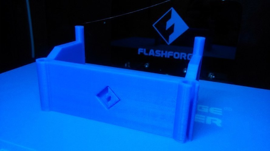 FlashForge Creator Pro 2016 - Filament tube holder 3D Print 97731