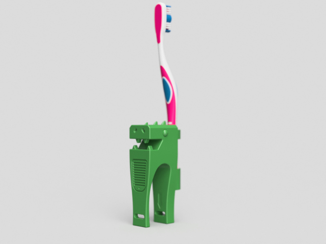 Hand Rex-support for Toothbrush. 3D Print 97784
