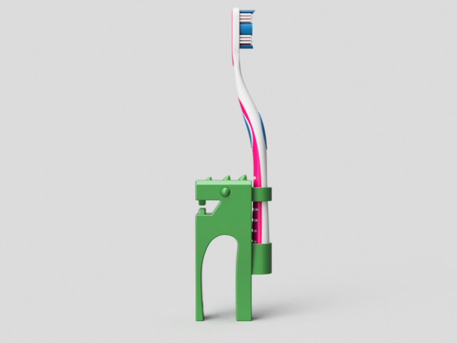 Hand Rex-support for Toothbrush. 3D Print 97785