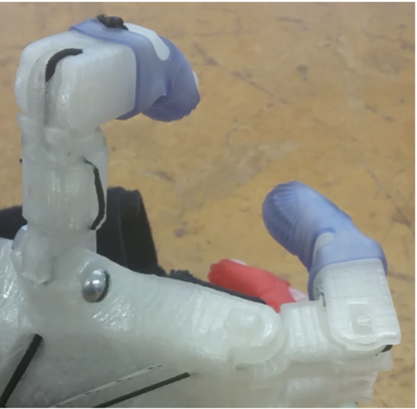 Medium OTAPH - Opposable Thumb add-on for Prosthetic Hands 3D Printing 97801