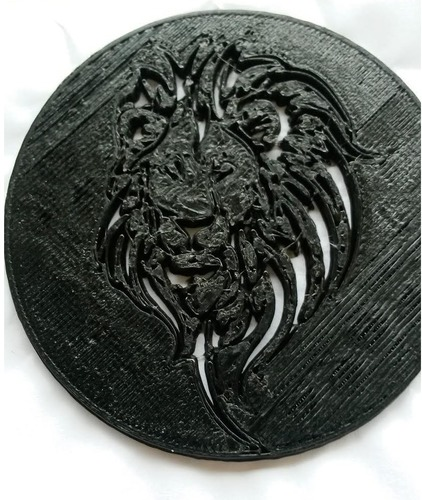 Cecil the Lion King Coin 3D Print 97835