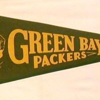 Small Vintage Greenbay Packers Banner  3D Printing 97857