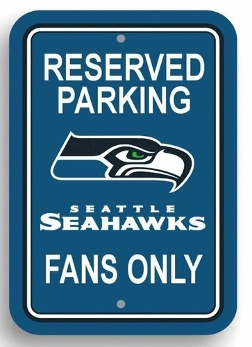 Seattle Seahawks Parking Sign 3D Print 97872