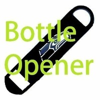 Small Seattle Seahawks Bottle Opener 3D Printing 97873