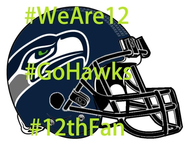 Seahawks vs Panthers - Seattle Seahawks Helmet Art 3D Print 97876