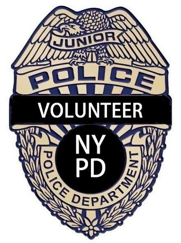 NYPD Junior Volunteer Police Badge 3D Print 97888